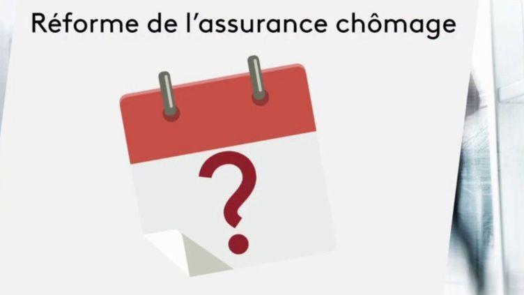 Assurance chômage : l'impact de la crise sanitaire sur la réforme (FRANCE 3)