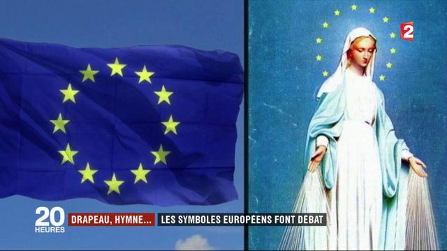 Drapeau, hymne... les symboles européens font débat