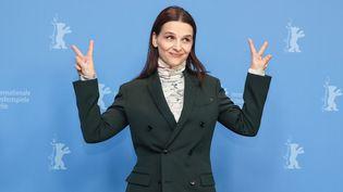 Juliette Binoche présidente du jury de la 49e Berlinale (2019)  (CHINE NOUVELLE/SIPA)