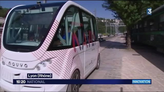 Technologie : une navette sans chauffeur à Lyon
