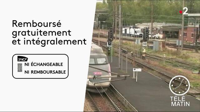Grève à la SNCF : que faire en cas de train annulé ?