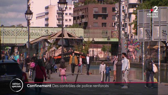 Paris : le quotidien d'une brigade de contrôle du respect du confinement