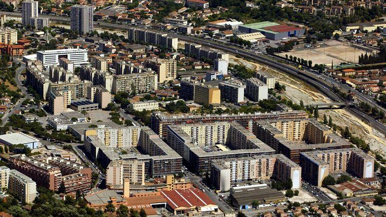 Le quartier de l'Ariane, à Nice. (FRANZ CHAVAROCHE / MAXPPP)