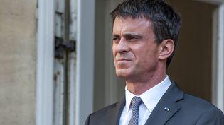 Le Premier ministre, Manuel Valls, à Paris, le 9 juin 2015. (CITIZENSIDE / YANN KORBI / AFP)
