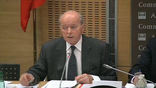Jacques Toubon, auditionné le 2 juillet 2014 devant la commission des lois de l'Assemblée nationale. (ASSEMBLEE NATIONALE)