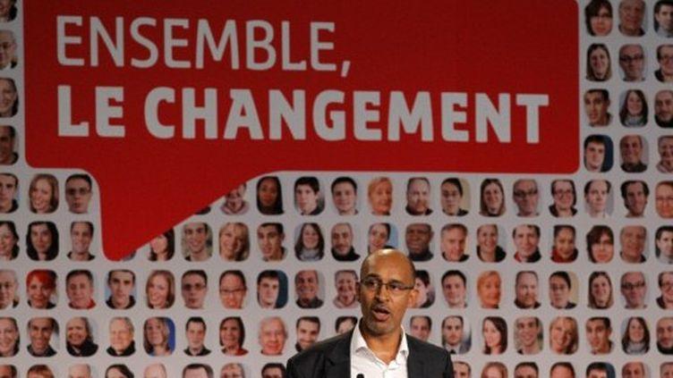 Harlem Désir appelle les militants socialistes à se mobiliser. (AFP - Patrick Kovarick)