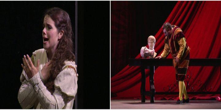 Olga Pudova et Carlos Almaguere magnifient par la voix ce face-à-face père fille  (France 3 / Culturebox)