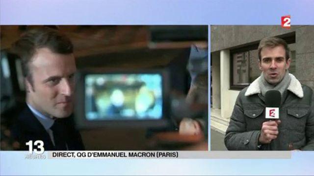 Présidentielle 2017 : première rencontre entre François Bayrou et Emmanuel Macron