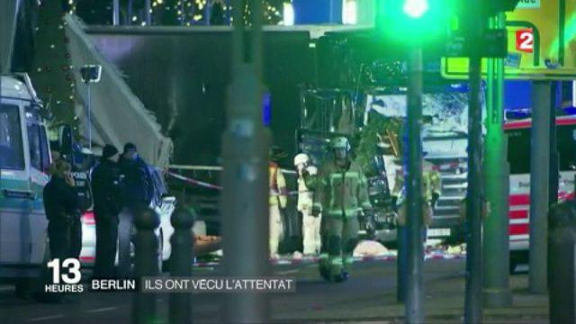 Berlin : ils ont vécu l'attaque au camion