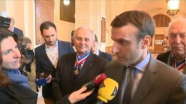 """Macron : """"Je n'ai pas dit qu'il fallait supprimer l'ISF(...), mais il ne faut pas empêcher les gens de réussir et de s'enrichir"""""""