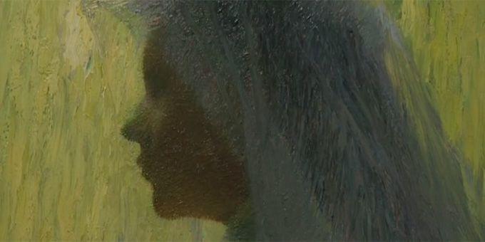 Henri Martin, Profil au voile, 1902 (détail), Cahors, Musée Henri-Martin  (Culturebox - F3)