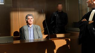 Le criminel multirécidiviste Pierre Bodein, le 9 septembre 2008, au tribunal de grande instance de Colmar (Haut-Rhin). (FREDERICK FLORIN / AFP)
