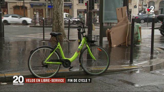 Vélos en libre-service : fin de cycle ?