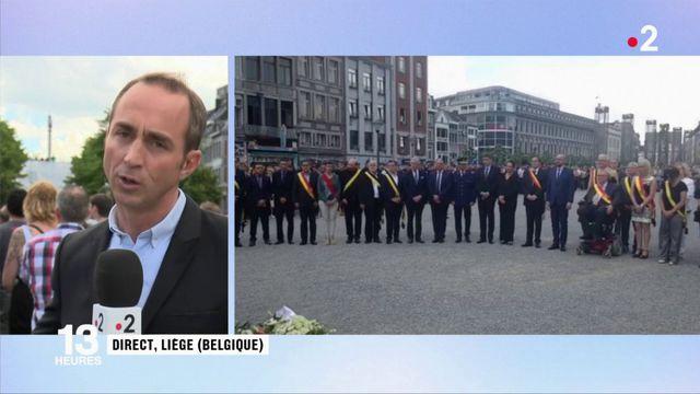 Attentat de Liège : toute la Belgique se recueille