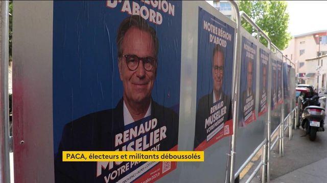 tension extrême pour la droite en PACA