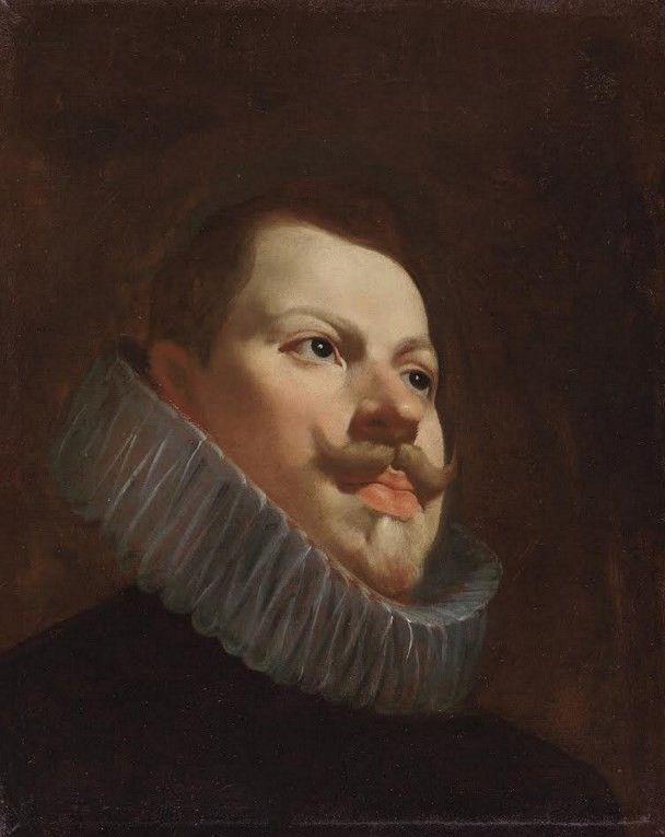 Ce portrait de Felipe III a été peint en 1627 par Diego Vélasquez.