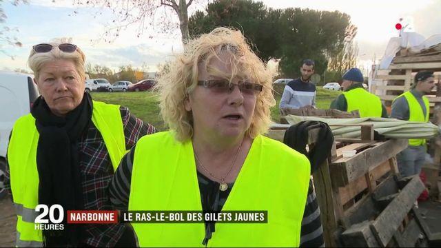 """Narbonne : les """"gilets jaunes"""" poursuivent leurs actions"""