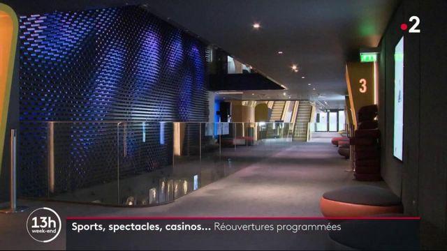 Déconfinement: sports, spectacles, casinos… les réouvertures programmées