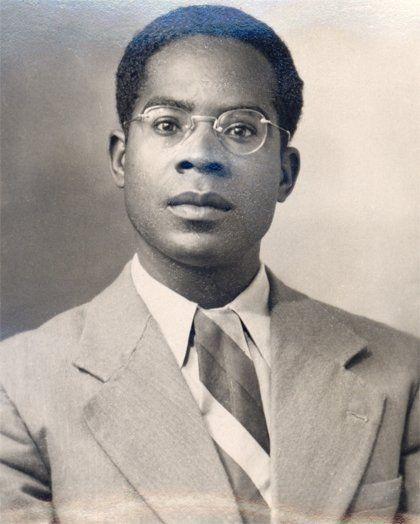 Aimé Césaire, alors étudiant (photo non datée)  (assemblée nationale)
