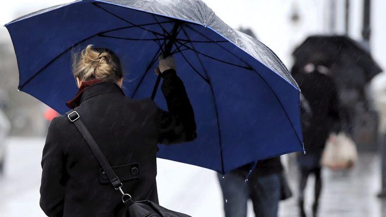24/01/2014. fortes pluies et risque d'inondations sur Midi-Pyrénées (MAXPPP)