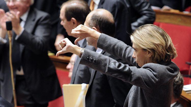 La députée UMP des Yvelines, Valérie Pécresse, à l'Assemblée nationale, le 13 novembre 2012. (BERTRAND GUAY / AFP)