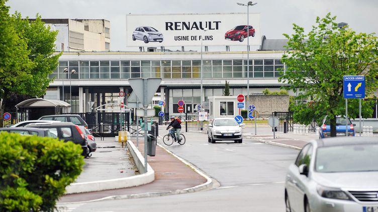 L'usine de Renault, le 28 mai 2013, à Flins, dans les Yvelines. (MAXPPP)