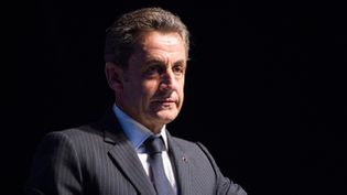 """(A trois semaines de l'élection à la présidence de l'UMP, Nicolas Sarkozy dit vouloir  """"tout remettre à plat"""" et """"réinventer"""" le parti © Maxppp)"""