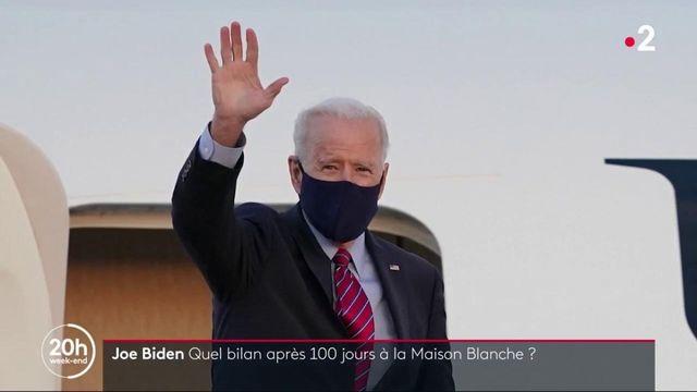 Etats-Unis : Joe Biden a-t-il réussi ses 100 premiers jours à la Maison Blanche ?