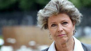 Anne Mansouret, conseillère générale socialiste de l'Eure, a annoncé sa candidature à la primaire du PS. (AFP - Kenzo Tribouillard)