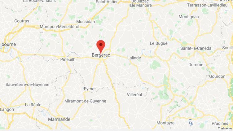 Bergerac (Dordogne). (CAPTURE D'ECRAN GOOGLE MAPS)