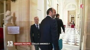 Discours d'Édouard Philippe : quelles annonces ? (FRANCE 2)