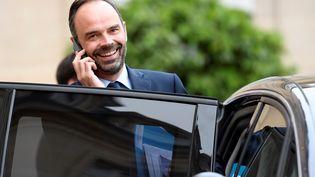 Le Premier ministre, Edouard Philippe, à l'Elysée le 11 juillet 2017. (BERTRAND GUAY / AFP)