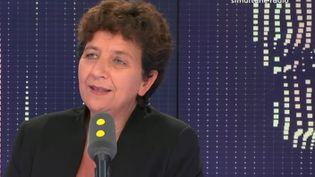 La ministre de l'Enseignement supérieur, Frédérique Vidal, invitée de franceinfo le 14 septembre 2018. (RADIO FRANCE / FRANCE INFO)