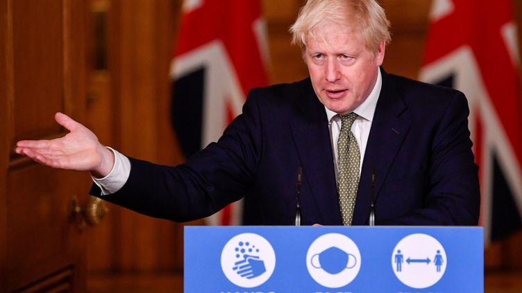 Le Premier ministre britannique, Boris Johnson, le 12 octobre 2020. (TOBY MELVILLE / POOL)