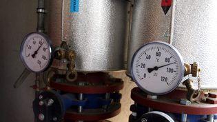 Une installation biométhane qui produit a la fois de l ' electricite , chauffage et eau chaude soit l'equivalent pour 700 ménages -Beckerich ( Luxembourg ) 23/07/2008 (MAXPPP)