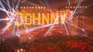 Le concert de Johnny Hallyday a eu lieu à Bercy, ce mardi 14 septembre. (FTV)