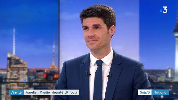Aurélien Pradié, député LR du Lot (France 3)