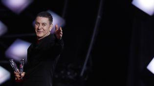 Le chanteur Etienne Daho aux 33e Victoires de la Musique à Boulogne-Billancourt, en février 2018 (THOMAS SAMSON / AFP)