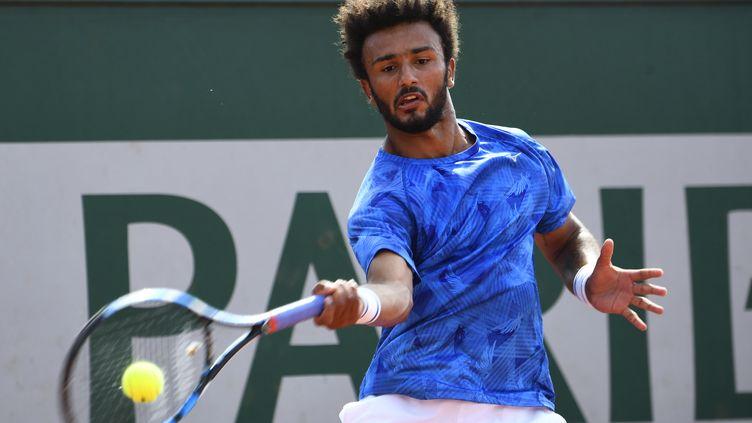 Le joueur français Maxime Hamou (ERIC FEFERBERG / AFP)