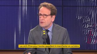 Gilles Le Gendre, président du groupe La République en marche à l'Assemblée nationale,était l'invité de franceinfo, vendredi 26 juillet 2019. (FRANCEINFO)
