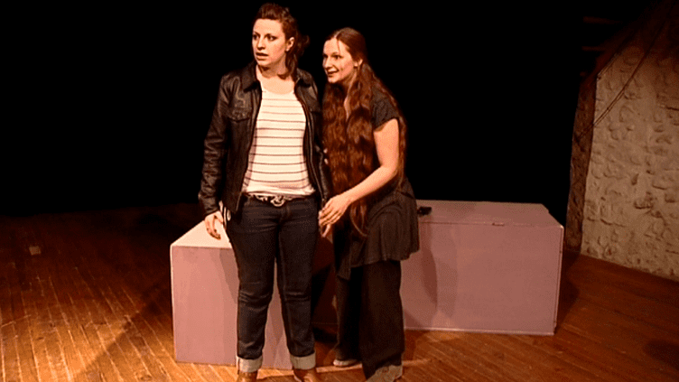 """""""Nous les Filles"""" mis en scène par Cécila Despesses présenté le samedi 8 mars 2014 pour célébrer les femmes  (France 3 / Culturebox)"""