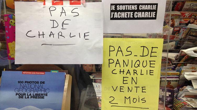 (Plus de Charlie Hebdo dès 10H du matin © Nathalie Bourrus - RADIO FRANCE)