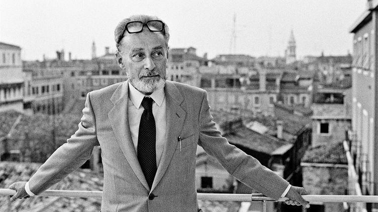 L'écrivain italien Primo Levi en 1980. (MARCELLO MENCARINI / MARCELLO MENCARINI)