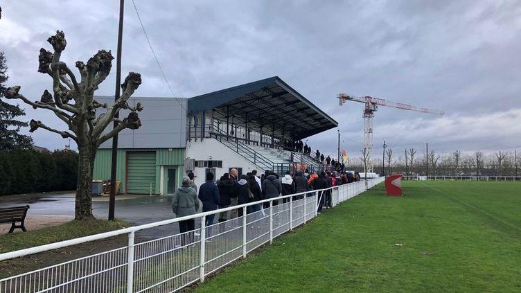 Les places pour Linas-Montlhéry - PSGse sont arrachés en une matinée dimanche 22 décembre. (ALEXANDRE FREMONT / RADIO FRANCE)