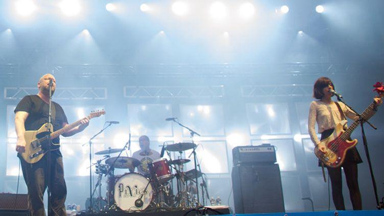 Les Pixies aux Eurockéennes le 4 juillet 2014.  (Sébastian Bozon / AFP)