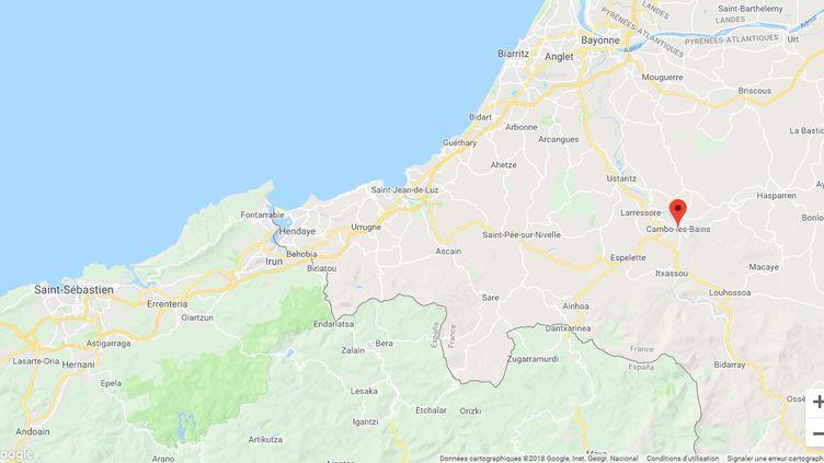 L'affaire se déroule à Cambo-les-Bains (Pyrénées-Atlantiques). (GOOGLE MAPS)