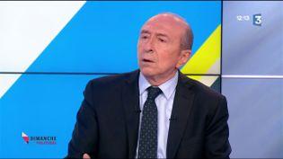 Gérard Collomb (CAPTURE D'ÉCRAN FRANCE 3)