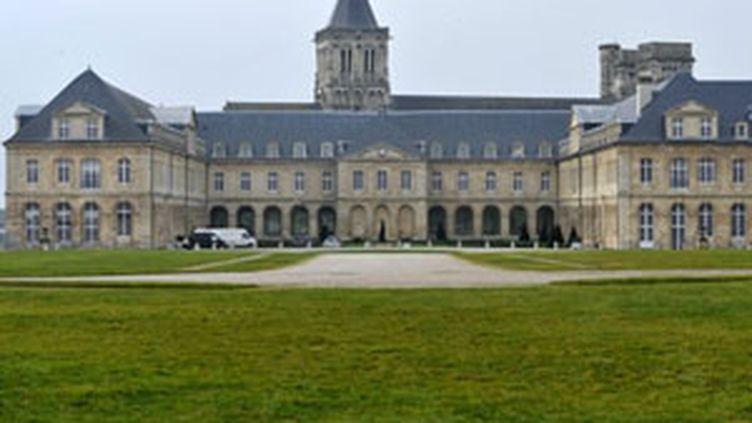 L'abbaye-aux-Dames à Caen, siège du conseil régional de Basse-Normandie. (AFP - Mychele Daniau)