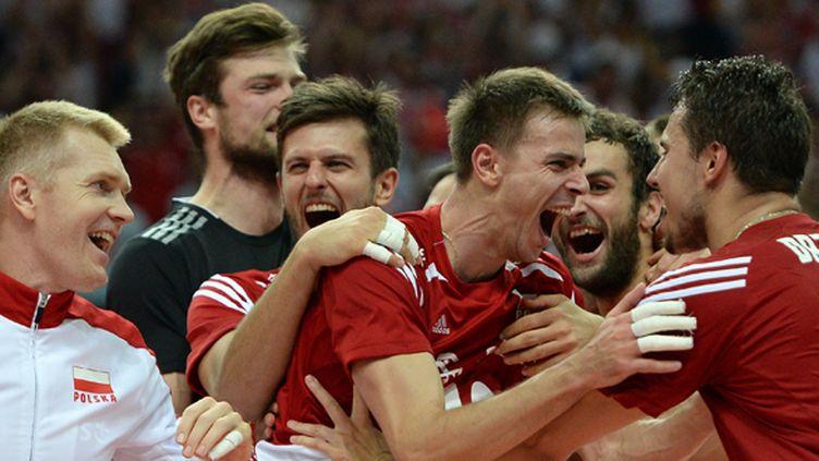 La joie des volleyeurs polonais (VLADIMIR PESNYA / RIA NOVOSTI)