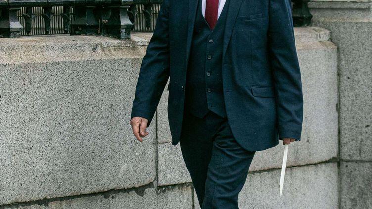 Le député conservateur David Amess, le 25 mai 2021 à Londres (Royaume-Uni). (AMER GHAZZAL / SHUTTERSTOCK / SIPA)